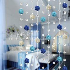 Door Beads Beaded Curtains Promotion-Online Shopping for . Door Beads Beaded Curtains Promotion-On Beaded Door Curtains, Drapes Curtains, Crystal Curtains, Curtain Partition, Curtain Door, Diy Room Decor, Wall Decor, Home Decor, Door Beads