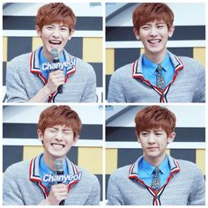 Chanyeol What a cutie Exo