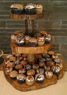 New way to serve cupcakes