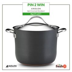 Imagine all the healthy fall soups you could make in this beautiful Analon stockpot. @Anolon Gourmet Cookware Gourmet Cookware #getfresh