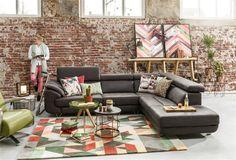 Collectie Prima-Lux en Idee+: Industrieel interieur met een kleurrijke twist