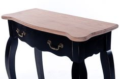 Console made from Oak wood  #black #wood #console