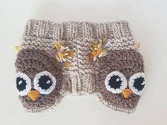 Owl Headband Winter Accessory Ear Warmer Knit Headband