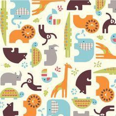 ORGANIC crib sheet- safari animals- made to order. $50.00, via Etsy.