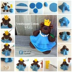 Fondant Princess Bear Tutorial by Treehouse Cakes By Kat http://sulia.com/my_thoughts/a06dc5da-420c-4fa6-9a6f-4f5b10255446/?source=pin&action=share&btn=small&form_factor=desktop&sharer_id=117154591&is_sharer_author=true&pinner=117154591