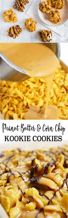 Peanut Butter and Corn Chip Kookie Cookies