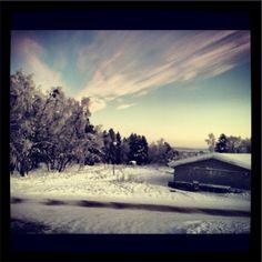 Lapland skies #beaut