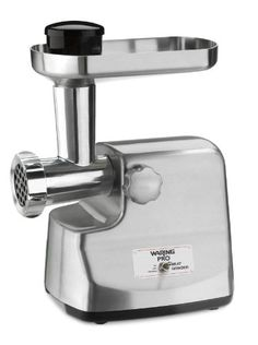 Waring MG855 Professional Die-Cast Metal Housing Meat Grinder, Brushed Stainless Steel for $149.00
