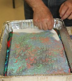 Marbling with Acrylic Paint on Fabric - CLARA NARTEY  Unlock Your Creative Potential