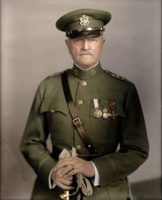 General Pershing color image - Google Search