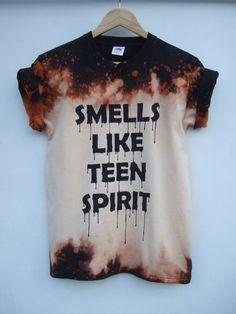 Riecht wie Teen Spirit Acid Wash Bleichmittel von tappingtonandwish