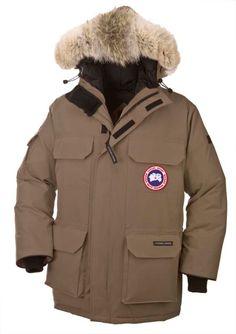 #Canada_Goose #Men #Expedition_parka_brown