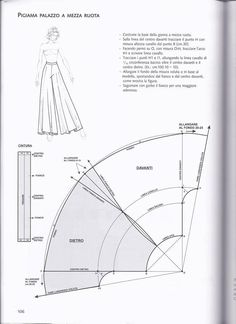Clippedonissuu From La Tecnica Dei Mode - Diy Crafts Sewing Pants, Sewing Clothes, Sewing Coat, Doll Clothes, Pattern Cutting, Pattern Making, Dress Sewing Patterns, Clothing Patterns, Coat Patterns