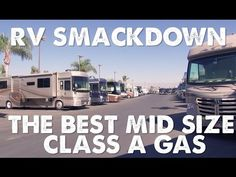 RV Smackdown - Best Midsize Class A Gas Motorhome - YouTube