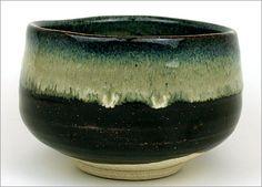 Japanese Pottery Japanese Tea Bowl Tenmokunagashi by JAPANTIQUE, $30.00