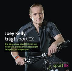 Joey Kelly ist begeistert von sportEX von ENERGETIX - Seebach Schmuck