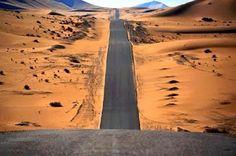 Beautiful road in the algerian sahara .. #Algeria الترجمة