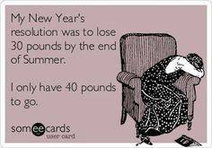 New Yr's resolution