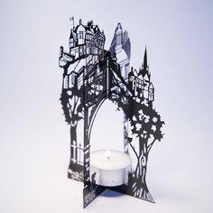 KSLD Christmas Card 2011 - Edinburgh Candle Holder