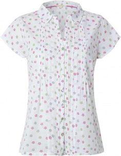 2632411003 White Stuff Swinging Ellie Floral Cotton Shirt clothing Size 8 - 18