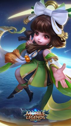 Wallpaper Chang'e Moon Palace Immortal HD for Android and iOS Female Character Concept, Game Character, Character Design, Mobile Legend Wallpaper, Hero Wallpaper, Cute Cartoon Characters, Anime Characters, Bruno Mobile Legends, Mobiles