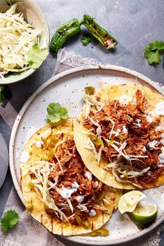 A pulled pork recipe inspired by classic Mexican flavours. This recipe is easy to make at home with just a few ingredients, minimal prep and one pot or a slow cooker. Serve with tortillas drizzled with sour cream, guacamole and slaw.
