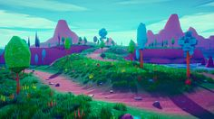 Related image Low Poly Games, Unreal Engine, 3d Assets, Environment Design, Engineering, Artwork, Projects, Painting, Inspiration