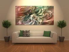 """Flower Dance"" - Large canvas art by Jaison Cianelli @ www.cianellistudios.com"