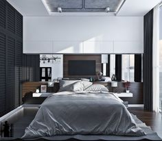 Home Designing — (via 7 Stylish Bedrooms with Lots of Detail)