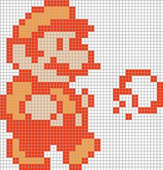 Cro Knit Inspired Creations By Mario Graphs For Crochet, Afghan Stitch, Tunisian Crochet, Knitting Pixel Art Templates, Perler Bead Templates, Perler Patterns, Crochet Afghan Stitch, Tunisian Crochet, Crochet Stitches, Beading Patterns, Crochet Patterns, Crochet Ideas