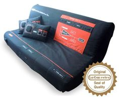 SEGA Master System Sofa.. Good for relaxing while playing any current gen console