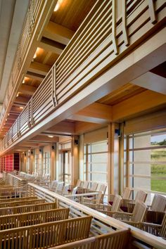 The interior of Weill Hall is filled with rich woods that help make the space acoustically perfect. #greenmusiccenter