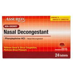 Assured Nasal Decongestant Tablets, 24 ct.