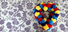 Wendy Townley » Blog Archive » My First DIY: Pom Pom Wreath