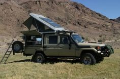 Land Cruiser 79 Series d/c Overlander Off Road Camper, Truck Camper, Toyota Land Cruiser, Best 4x4, Adventure Campers, Toyota 4, Expedition Vehicle, Mechanical Design, 4x4 Trucks