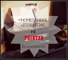Five Days of Homeschooling Essentials: Let's Talk Printers
