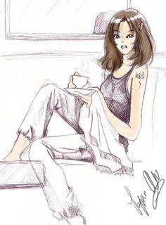 coffee breaks by tachiik