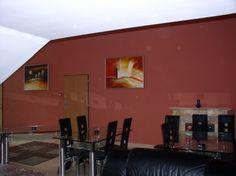 realizace, malba s rámem, obraz do restaurace, pizzerie