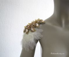 Your place to buy and sell all things handmade Diy Costumes, Dance Costumes, Couture Fashion, Diy Fashion, Samba Costume, Studs And Spikes, Bridal Boudoir, Bib Necklaces, Club Outfits