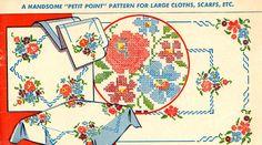 Vogart 116 Petit Point for large cloths & scarfs.