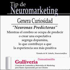 Crear Curiosidad Crear Público Satisfecho. Tip de #neuromarketing