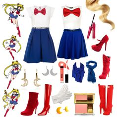 """""""Casual Cosplay - Sailor Moon"""" by casual-cosplay on Polyvore"""