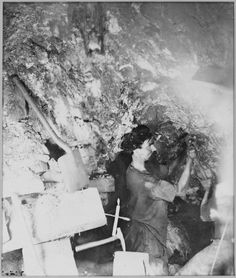 Gould and Curry miner on the Comstock Lode
