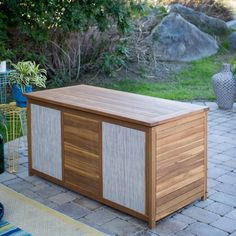 Coral Coast Sutter Outdoor Storage Deck Box   from hayneedle.com