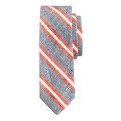 J.Crew striped tie.