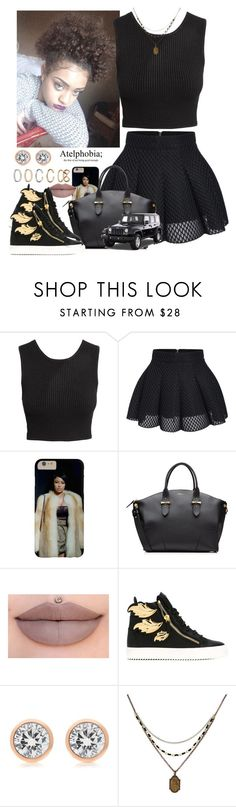 """""""✨"""" by newtrillvibes ❤ liked on Polyvore featuring H&M, Alexander McQueen, Giuseppe Zanotti, Michael Kors, 1928, Wrangler and Forever 21"""