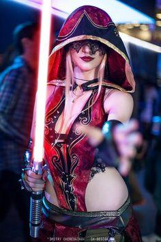 Star Wars cosplay.