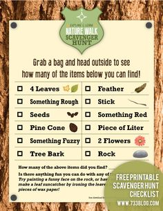 Scavenger hunts are not only for hiding eggs during Easter. Scavenger hunts are … Scavenger hunts are not only for hiding eggs during Easter. Scavenger hunts are fun, inexpensive and a great idea for a kids birthday… Outdoor Scavenger Hunts, Nature Scavenger Hunts, Summer Activities, Learning Activities, Camping Activities, Babysitting Activities, Children Activities, Camping Games, Indoor Activities