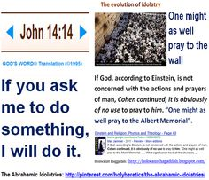 If you ask me to do something, I will do it. - John 14 - 14