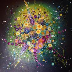 Leanne Christie, picture, Art, Devon, Artist, Painting, Glitter,